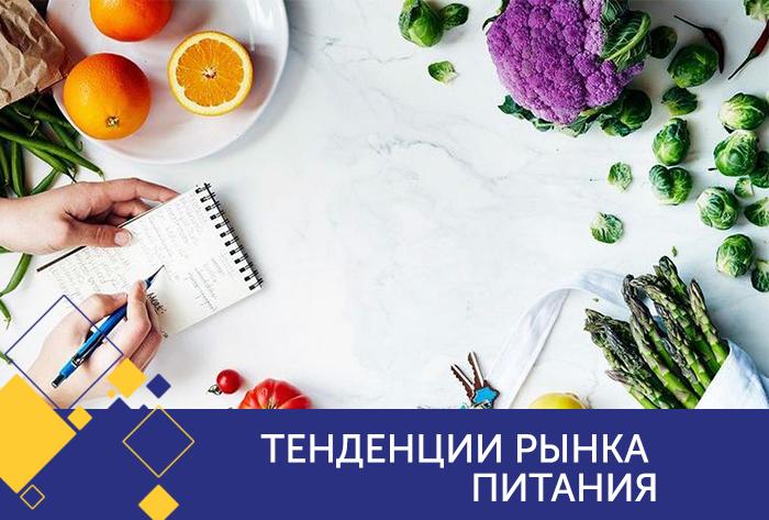 Тенденции рынка питания