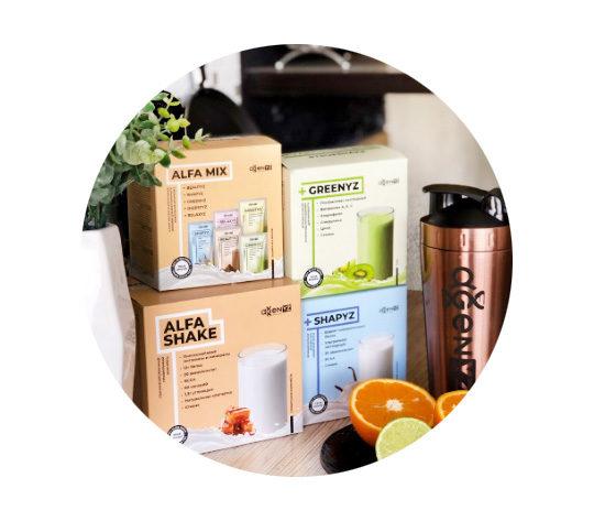 Функциональная еда и напитки